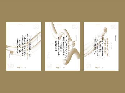 Decades of Design, Quarterly Vol. 2 editorial design publication branding graphic design