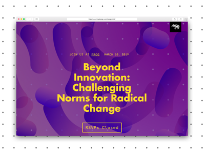 Radical Innovation, campaign identity identity campaign design branding graphic design