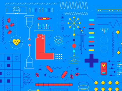 Pharmacies Of The Future vector data-viz illustration graphic design