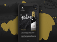 Winery Page Concept