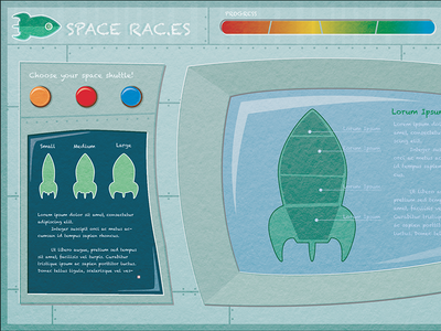 Space Races Children's Game