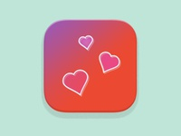 iphone Dating App Icon Concept