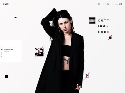 Cutting-Edge ux static marble m jewelry grunge elegant ecommerce earring