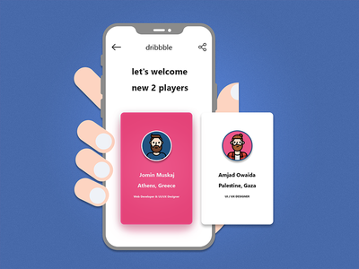 Dribbble Invitations distribution 2 welcome ux ui new member iphone invite invitations invitation firstshot dribbble draft