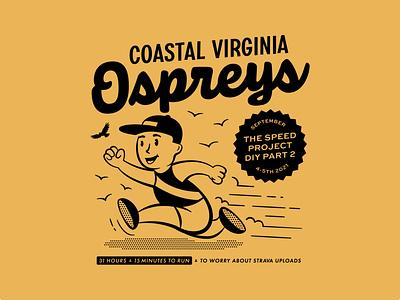 TSP DIY pt 2 runner race beach virginia beach virginia vintage diy tsp illustration running retro