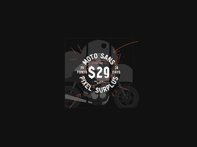 Moto Sans for $1!