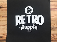 Paper Art for RetroSupply Co