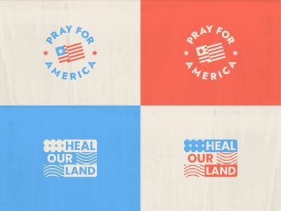Patriotic 2020 texture church typography vector colors blue white red stripes stars and stripes stars flag lockup t-shirt shirt heal pray american flag america patriotic