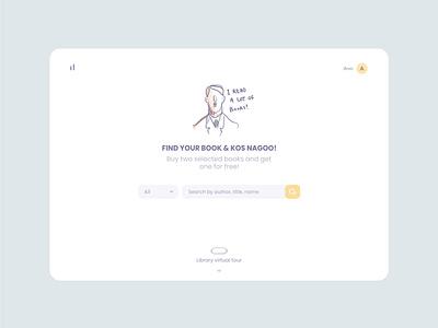 Book store amirghaleh webdesign uiux dashboad book