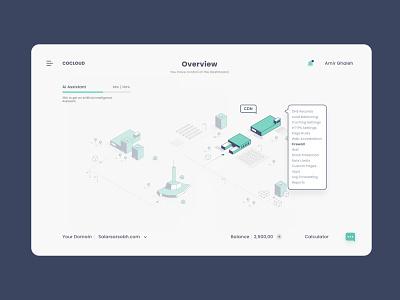 Arvan Dashboard game web ui ux dashboard