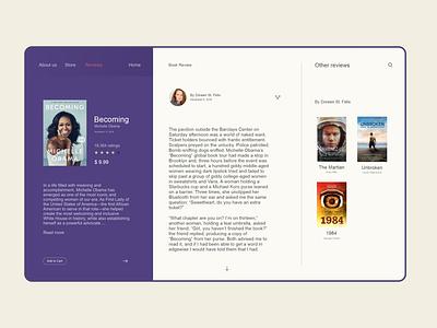 Book review amirghaleh book design uiux webdesign