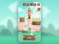 Mobile Game Homepage