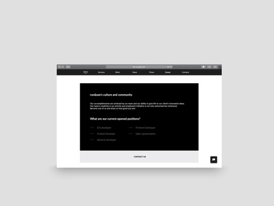 Website for it company cleandesign mobile app web mobileaplications web it company web webdesign website minimalist rakowski rakowski studio