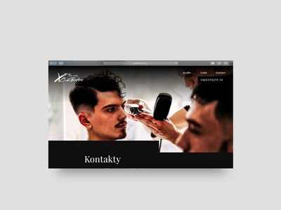 Contact page BarberShop design web design clean design web webdesign website minimalist rakowski rakowski studio contactpage contact