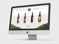 Upland Brewery Website