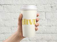 Hive Logo Coffee Cup