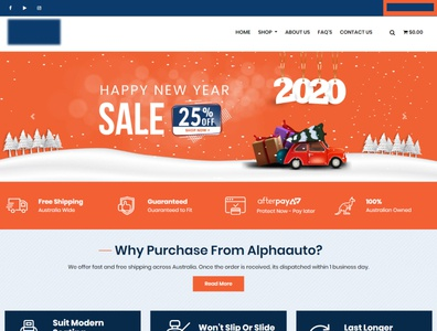 Auto Company Website