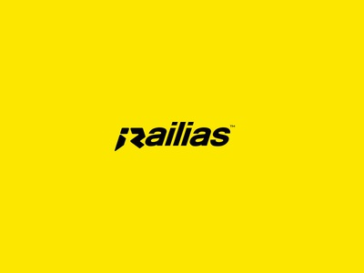 Railias iconic outdoors creative minimal clean simple rockstar wordmark logo design logotype logo