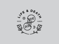 Life & Death T-Shirt Design