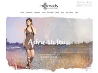 Nomads Hemp Wear redesign