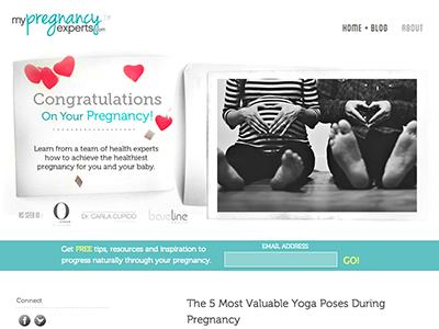 My Pregnancy Experts minimal texture grunge pregnancy blog