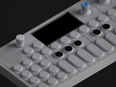 OP-1 | Modeling practice design keyshot fusion 360 product design industrial design