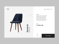 Haus / Product Page