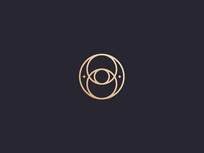 Opulo space vesica pisces sacred geometry sacredgeometry geometric luxury rebrand luxury branding luxury brand logo