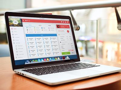 NOA Software saas interface responsive ux ui design app web