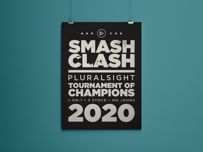 RE: Smash Clash Poster rebound poster design ssbu smash bros smash super print design print poster typography