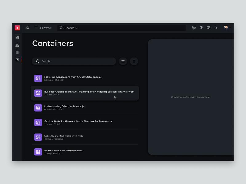 Designing as Thinking product design tool interface ui dashboard web design design
