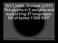 Labil Grotesk Out Now