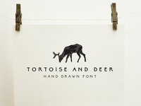 Tortoise and Deer Font