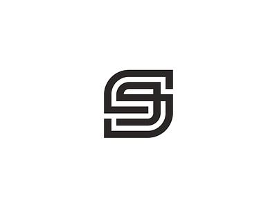 s9 vector monogram geometric logo symbol 9 s simple 9s s9