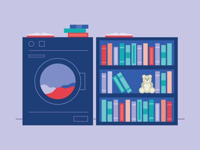 Laundromat Library