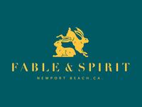 Fable & Spirit Restaurant Branding