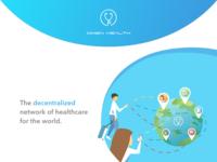 Web ui blockchain health project