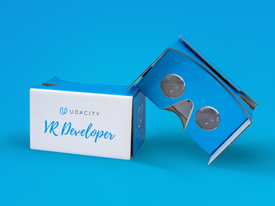 Udacity Cardboard packaging virtual reality vr cardboard google