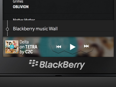 Blackberry Music Player