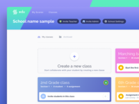 Flat For Education Dashboard