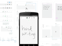 Handwriting in Evernote Android