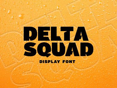 Delta Squad Font font typography type