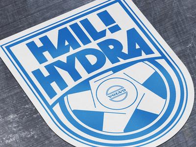 Hail hydra volvo sticker