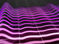 Neon Audio Spectrum