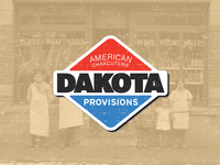 Dakota Provisions Badge