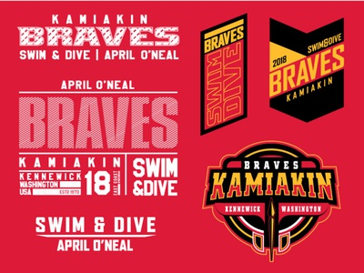 Kamiakin Braves Swim Team
