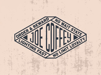 Coffey Badge design logo type typography badge