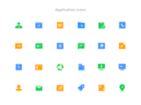 icons for CRM system