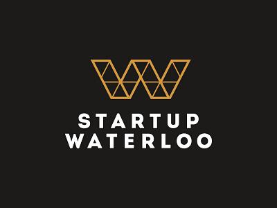 Startup Waterloo Logo bridge branding identity logo