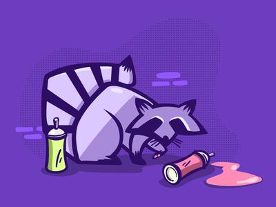 Rebel Raccoon